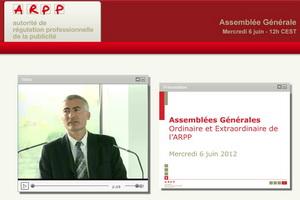 Stéphane Martin, Directeur Général de l'ARPP