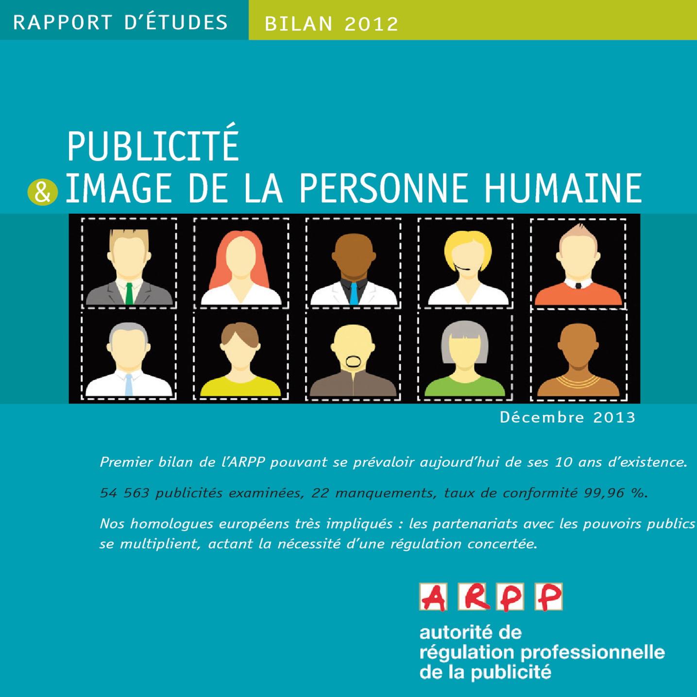 Bilan Publicité et Image de la Personne Humaine 2012