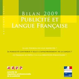 Bilan Publicité et Langue Française 2009