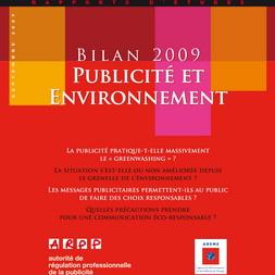 Bilan Publicité et Environnement 2009