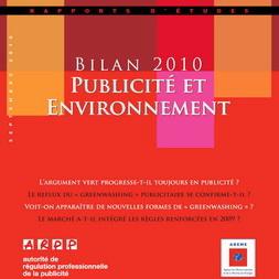 Bilan Publicité et Environnement 2010