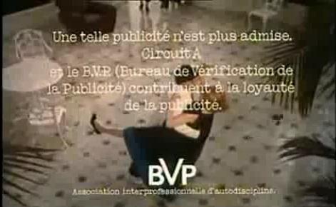 Campagne du BVP (ancien nom de l'ARPP)