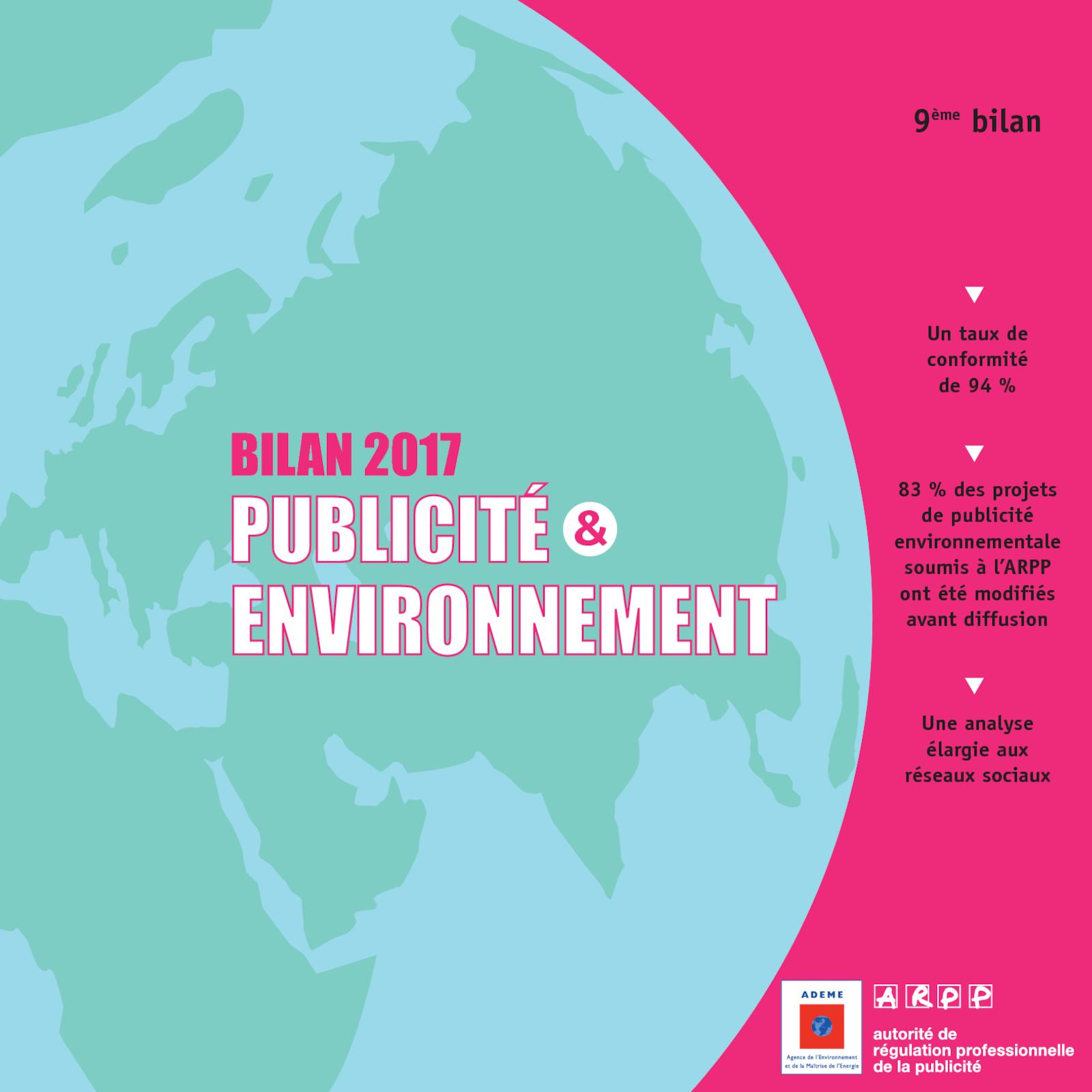 Bilan publicité et environnement 2017