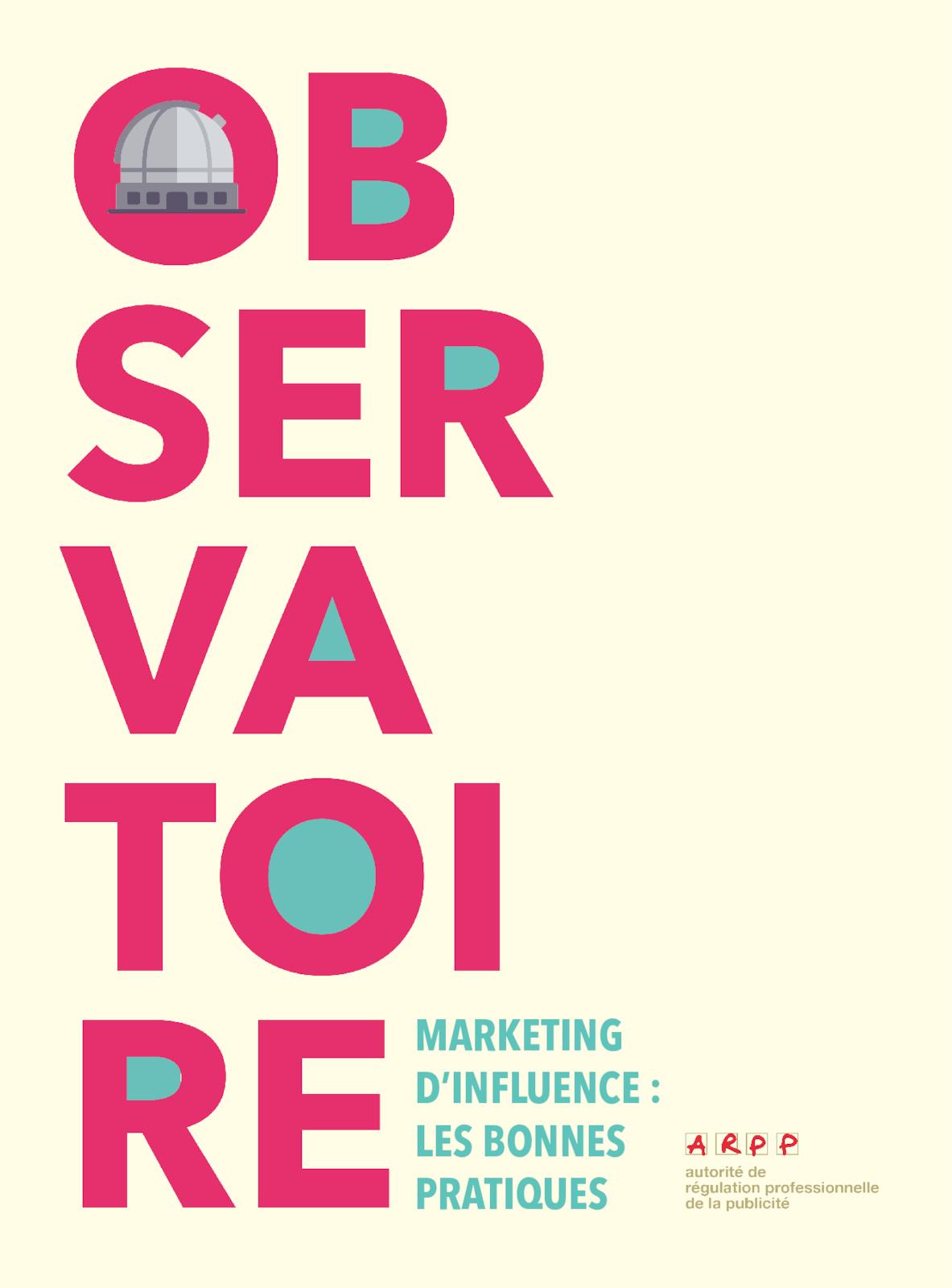 Observatoire marketing d'influence