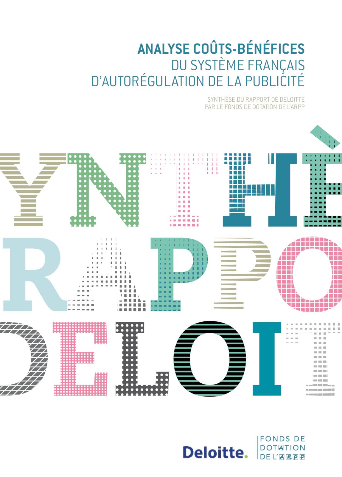Synthèse Rapport Deloitte - VF