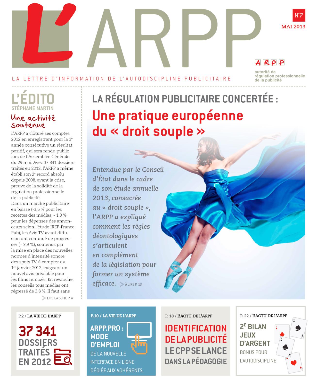 Lettre n°7 – Mai 2013